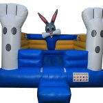 Baby Bunny Jumping Castle (U6's only)